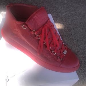 Authentic Men Red Balenciaga Sneaker size 45